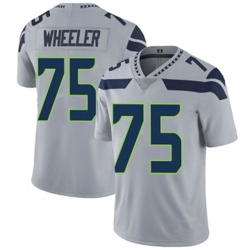 Youth Nike Seattle Seahawks Chad Wheeler Gray Alternate Vapor Untouchable Jersey - Limited