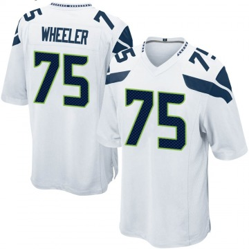 Youth Nike Seattle Seahawks Chad Wheeler White Jersey - Game