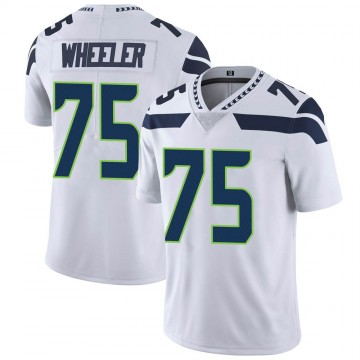 Youth Nike Seattle Seahawks Chad Wheeler White Vapor Untouchable Jersey - Limited