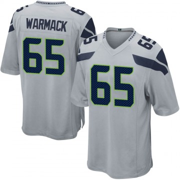 Youth Nike Seattle Seahawks Chance Warmack Gray Alternate Jersey - Game
