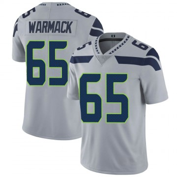 Youth Nike Seattle Seahawks Chance Warmack Gray Alternate Vapor Untouchable Jersey - Limited