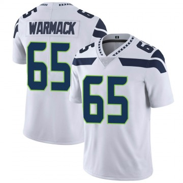 Youth Nike Seattle Seahawks Chance Warmack White Vapor Untouchable Jersey - Limited