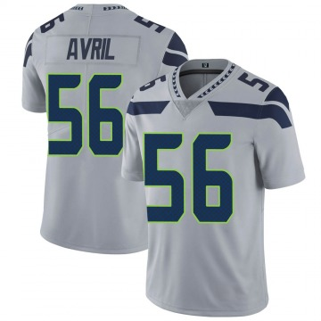 Youth Nike Seattle Seahawks Cliff Avril Gray Alternate Vapor Untouchable Jersey - Limited