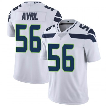 Youth Nike Seattle Seahawks Cliff Avril White Vapor Untouchable Jersey - Limited