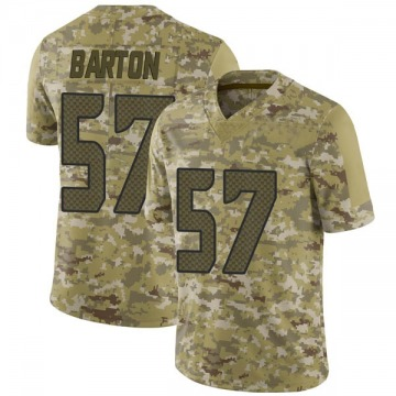 Youth Nike Seattle Seahawks Cody Barton Camo 2018 Salute to Service Jersey - Limited