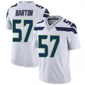 Youth Nike Seattle Seahawks Cody Barton White Vapor Untouchable Jersey - Limited