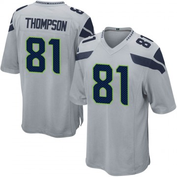 Youth Nike Seattle Seahawks Cody Thompson Gray Alternate Jersey - Game