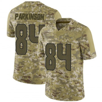 Youth Nike Seattle Seahawks Colby Parkinson Camo 2018 Salute to Service Jersey - Limited