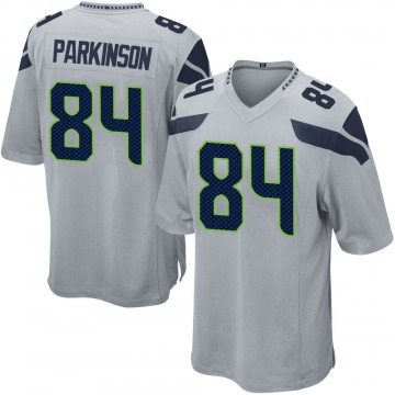Youth Nike Seattle Seahawks Colby Parkinson Gray Alternate Jersey - Game