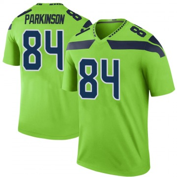 Youth Nike Seattle Seahawks Colby Parkinson Green Color Rush Neon Jersey - Legend