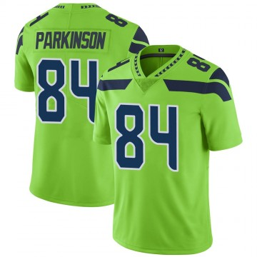 Youth Nike Seattle Seahawks Colby Parkinson Green Color Rush Neon Jersey - Limited