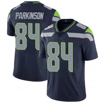 Youth Nike Seattle Seahawks Colby Parkinson Navy 100th Vapor Jersey - Limited