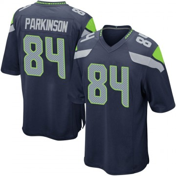 Youth Nike Seattle Seahawks Colby Parkinson Navy Team Color Jersey - Game