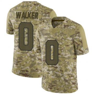 Youth Nike Seattle Seahawks D'Andre Walker Camo 2018 Salute to Service Jersey - Limited