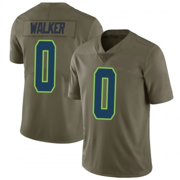 Youth Nike Seattle Seahawks D'Andre Walker Green 2017 Salute to Service Jersey - Limited