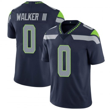Youth Nike Seattle Seahawks D'Andre Walker Navy Team Color Vapor Untouchable Jersey - Limited