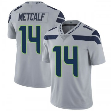 Youth Nike Seattle Seahawks DK Metcalf Gray Alternate Vapor Untouchable Jersey - Limited