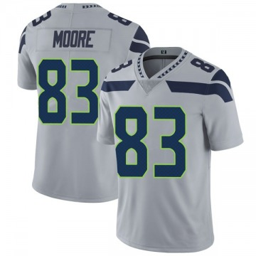 Youth Nike Seattle Seahawks David Moore Gray Alternate Vapor Untouchable Jersey - Limited