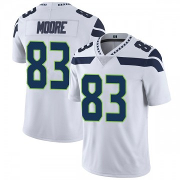 Youth Nike Seattle Seahawks David Moore White Vapor Untouchable Jersey - Limited