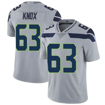 Youth Nike Seattle Seahawks Demetrius Knox Gray Alternate Vapor Untouchable Jersey - Limited