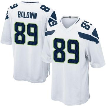 Youth Nike Seattle Seahawks Doug Baldwin White Jersey - Game