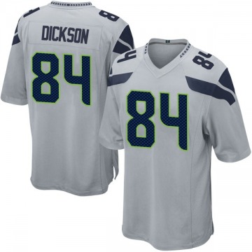 Youth Nike Seattle Seahawks Ed Dickson Gray Alternate Jersey - Game