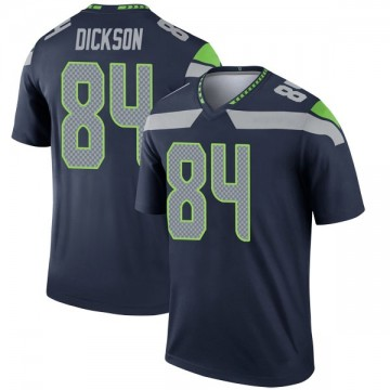 Youth Nike Seattle Seahawks Ed Dickson Navy Jersey - Legend