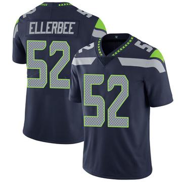 Youth Nike Seattle Seahawks Emmanuel Ellerbee Navy Team Color Vapor Untouchable Jersey - Limited