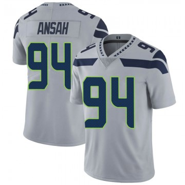 Youth Nike Seattle Seahawks Ezekiel Ansah Gray Alternate Vapor Untouchable Jersey - Limited
