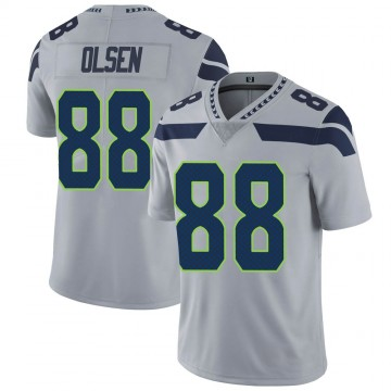 Youth Nike Seattle Seahawks Greg Olsen Gray Alternate Vapor Untouchable Jersey - Limited
