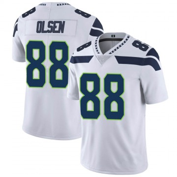 Youth Nike Seattle Seahawks Greg Olsen White Vapor Untouchable Jersey - Limited