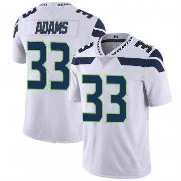 Youth Nike Seattle Seahawks Jamal Adams White Vapor Untouchable Jersey - Limited