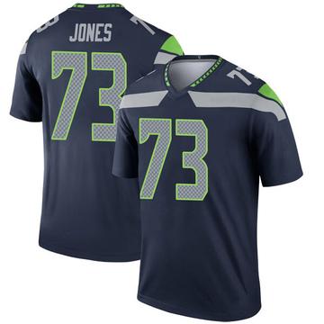 Youth Nike Seattle Seahawks Jamarco Jones Navy Jersey - Legend