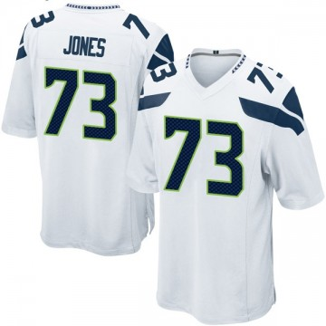 Youth Nike Seattle Seahawks Jamarco Jones White Jersey - Game