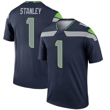 Youth Nike Seattle Seahawks Jayson Stanley Navy Jersey - Legend