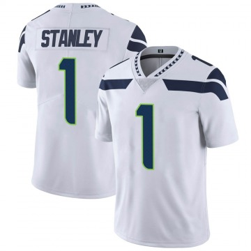Youth Nike Seattle Seahawks Jayson Stanley White Vapor Untouchable Jersey - Limited