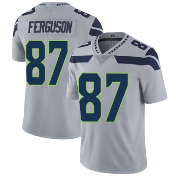 Youth Nike Seattle Seahawks Jazz Ferguson Gray Alternate Vapor Untouchable Jersey - Limited