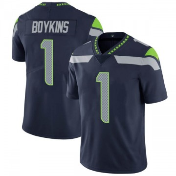 Youth Nike Seattle Seahawks Jeremy Boykins Navy Team Color Vapor Untouchable Jersey - Limited