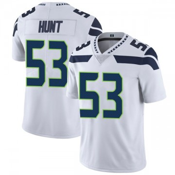 Youth Nike Seattle Seahawks Joey Hunt White Vapor Untouchable Jersey - Limited