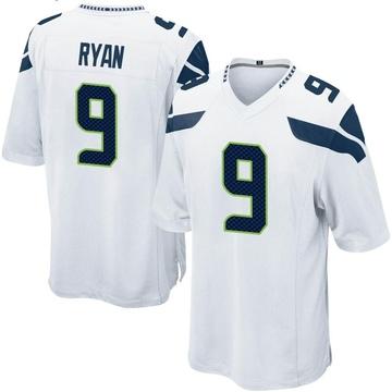 Youth Nike Seattle Seahawks Jon Ryan White Jersey - Game