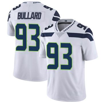 Youth Nike Seattle Seahawks Jonathan Bullard White Vapor Untouchable Jersey - Limited