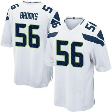 Youth Nike Seattle Seahawks Jordyn Brooks White Jersey - Game