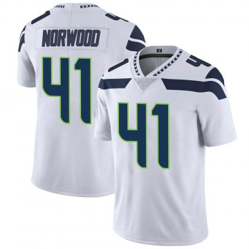 Youth Nike Seattle Seahawks Josh Norwood White Vapor Untouchable Jersey - Limited