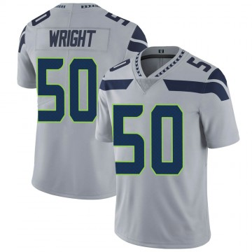 Youth Nike Seattle Seahawks K.J. Wright Gray Alternate Vapor Untouchable Jersey - Limited