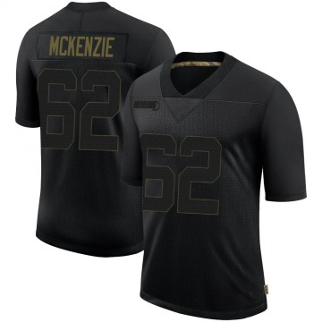 Youth Nike Seattle Seahawks Kahlil McKenzie Black 2020 Salute To Service Jersey - Limited