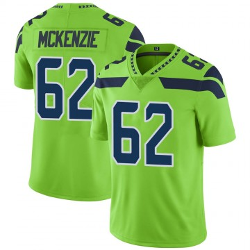 Youth Nike Seattle Seahawks Kahlil McKenzie Green Color Rush Neon Jersey - Limited
