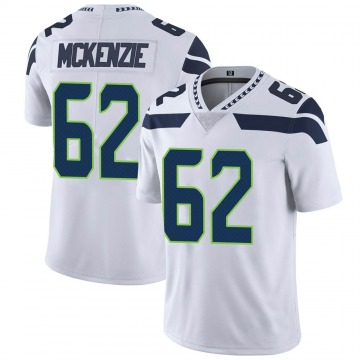 Youth Nike Seattle Seahawks Kahlil McKenzie White Vapor Untouchable Jersey - Limited
