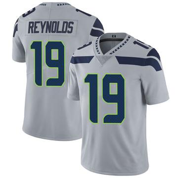 Youth Nike Seattle Seahawks Keenan Reynolds Gray Alternate Vapor Untouchable Jersey - Limited
