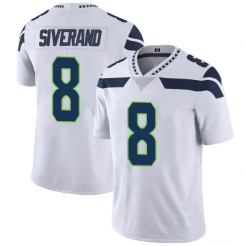 Youth Nike Seattle Seahawks Kemah Siverand White Vapor Untouchable Jersey - Limited