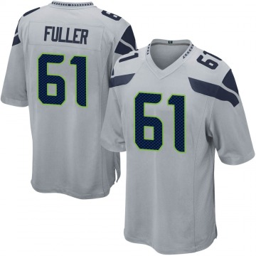 Youth Nike Seattle Seahawks Kyle Fuller Gray Alternate Jersey - Game
